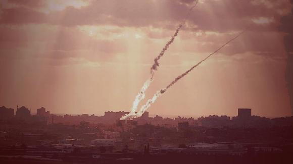 Raketen aus dem Gazastreifen (Foto: ZAHAL)